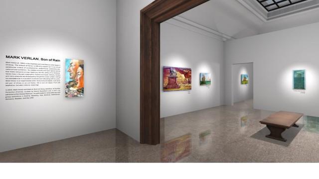 Artistul plastic din R. Moldova Mark Verlan a lansat o expoziție pe o platformă virtuală de la București