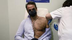 Premierul Greciei a primit a doua doză de vaccin