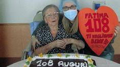 O femeie de 108 ani care s-a vindecat de COVID-19 în luna mai a fost vaccinată