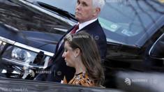 SUA: Vicepreședintele Mike Pence i-a lăsat un mesaj scris succesoarei sale, Kamala Harris