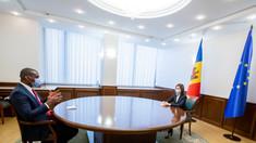 Președintele Maia Sandu a avut o întrevedere cu ambasadorul SUA, Dereck J. Hogan