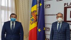 Liderul Platformei DA, Andrei Năstase, a avut o întrevedere cu ambasadorul României la Chișinău, Daniel Ioniță
