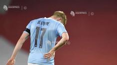 Fotbal - Manchester City: Kevin De Bruyne, indisponibil între patru și șase săptămâni