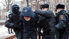 Poliția rusă a arestat 238 de persoane în timpul demonstrațiilor de susținere pentru opozantul Aleksei Navalnîi