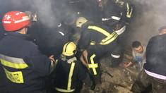 Explozie în orașul Sângerei. Două persoane au ajuns la spital
