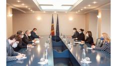 Președintele Maia Sandu  s-a întâlnit cu Reprezentantul special al Președinției în exercițiu a OSCE, Thomas Mayr-Harting