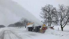 """Ninsoarea a blocat căile de acces către postul vamal """"Giurgiulești-Reni"""""""