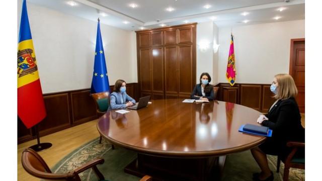 Președintele Republicii Moldova, Maia Sandu, a avut o întâlnire cu Președintele ANI, Rodica Antoci