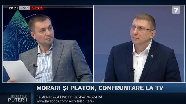 """Jurnal.md   Alexandru Slusari, către Platon și Morari: """"Voi ambii în diferită măsură, dar ați pus umărul la distrugerea acestui stat. Voi ați pus umărul la capturarea statului."""" (Revista presei)"""