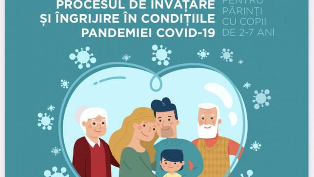 Ghid pentru părinți cu copii de 2-7 ani, elaborat cu sprijinul UNICEF