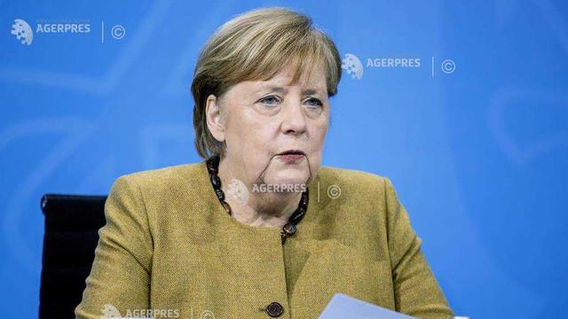 Cancelarul Angela Merkel preconizează prelungirea până în aprilie a restricțiilor impuse pentru combaterea epidemiei de coronavirus
