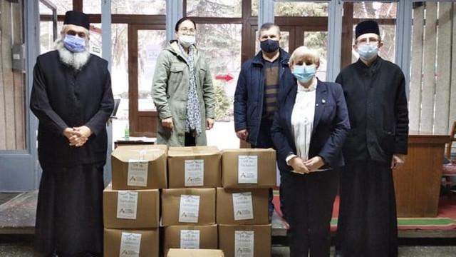 Asociația Investitorilor din România a oferit daruri profesorilor pensionari din Bălți