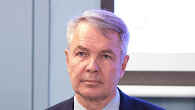 Ministrul de externe Aureliu Ciocoi a discutat agenda bilaterală de cooperare cu omologul său finlandez Pekka Haavisto