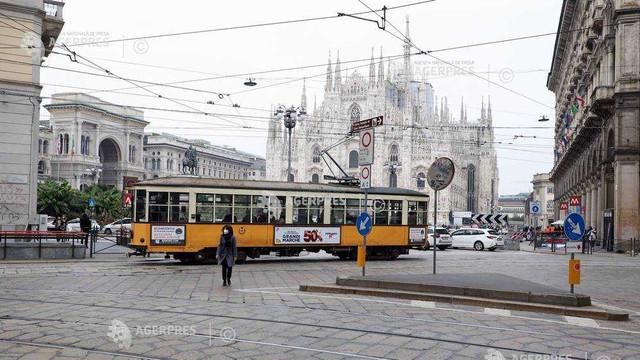 Coronavirus: Trei regiuni din Italia reintră în carantină de luni