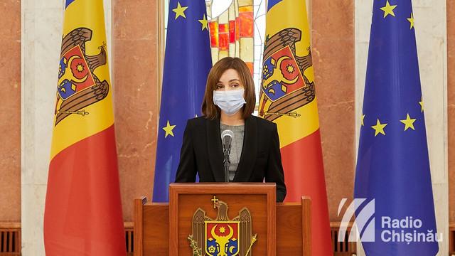 """Maia Sandu, după vizita la Bruxelles: """"Am ferma convingere că Moldova a fost și rămâne un stat european, în pofida dezastrului pe care încearcă să-l provoace unii politicieni iresponsabili și corupți"""""""