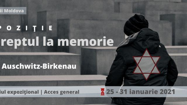 Expoziție | Ziua comemorării victimelor holocaustului la BNRM