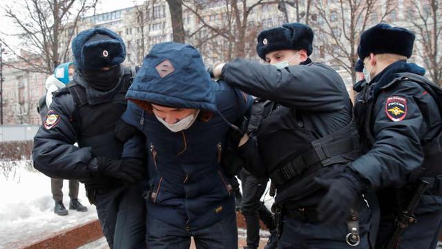 """Proteste în Rusia. Noua administrație de la Washington condamnă """"metodele brutale"""" ale autorităților de la Moscova"""