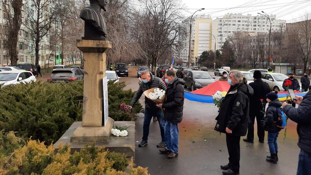FOTO | Membrii și simpatizanții PUN au marcat împlinirea a 162 de ani de la Unirea Principatelor Române