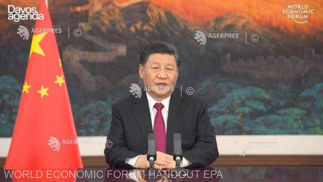 Președintele chinez Xi Jinping avertizează la Davos împotriva unui ''nou război rece''