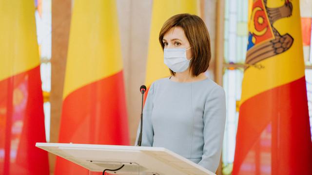 Maia Sandu va desfășura consultări referitor la criza politică cu experți în drept și societatea civilă în această săptămână