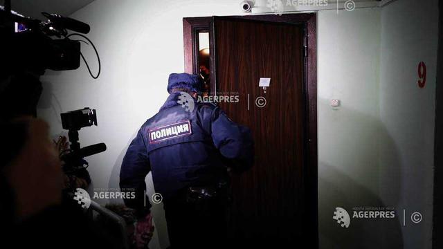 Poliția rusă și-a întețit anchetele și perchezițiile împotriva lui Aleksei Navalnîi și a familiei sale