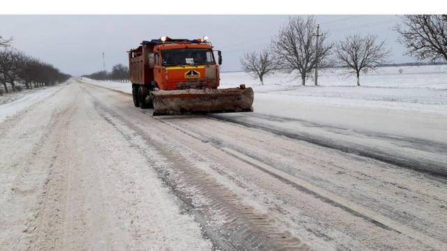 Pe întreg teritoriul R.Moldova se circulă în condiții de iarnă
