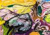 Părți din cea mai mare pictură pe pânză din lume, scoase la licitație în Dubai în scop caritabil