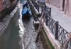 VIDEO | Canalele din Veneția sunt seci. Gondolele stau în nămol