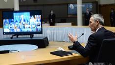 Liderii UE discută cu șeful NATO despre cooperarea în domeniul securității