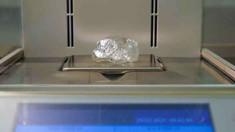 Un rar diamant brut de 242 de carate, oferit spre vânzare de Alrosa la o licitație din Dubai