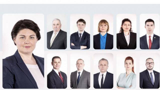 Echipa guvernamentală a Nataliei Gavrilița a împărțit taberele în Parlament