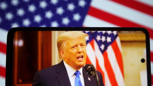 Trump a revenit pe o nouă rețea socială. Fostul președinte spune că acuzațiile împotriva lui nu pot fi dovedite