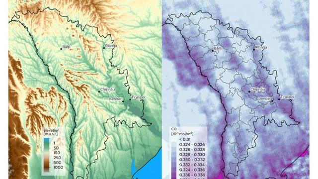 Moldova a fost inclusă într-un studiu pentru cartografierea poluării aerului
