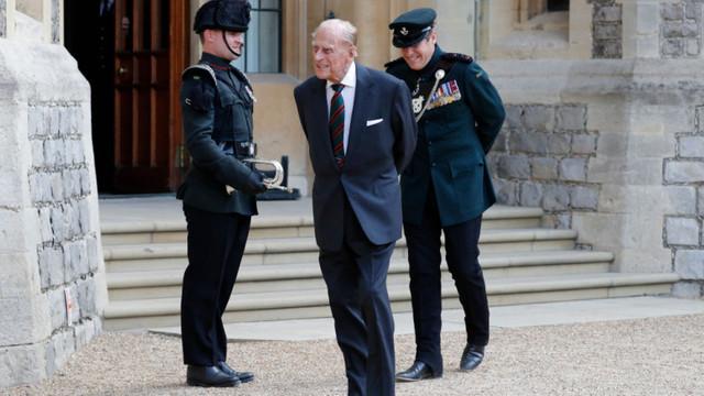 Prințul Philip, în vârstă de 99 de ani, a fost internat în spital