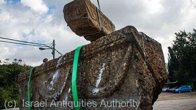 Două sarcofage cu o vechime de 1.800 de ani, descoperite în centrul Israelului
