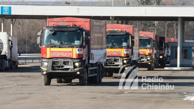 A început distribuirea echipamentelor din lotul de ajutor umanitar donat de Guvernul României