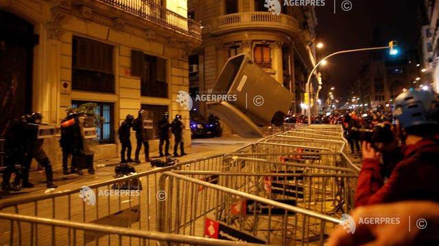 Spania | A șasea noapte de proteste după arestarea unui rapper