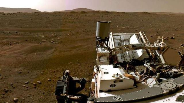 VIDEO | NASA a publicat luni o înregistrare video spectaculoasă ce prezintă coborârea roverului Perseverance pe Marte