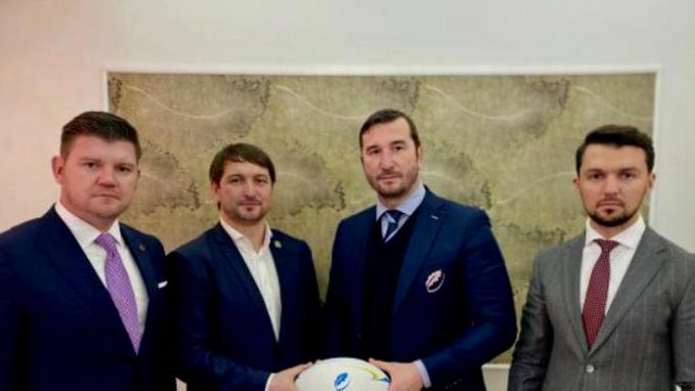 Moment istoric în sportul cu balonul oval: federațiile de rugby din R.Moldova și România se vor înfrăți și vor semna un protocol de colaborare
