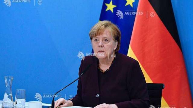 Germania se află în al treilea val al pandemiei, afirmă cancelarul german