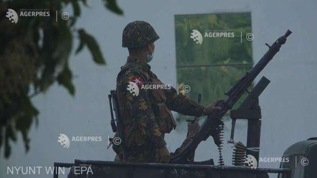 Conturile de Facebook și Instagram ale armatei din Myanmar, suspendate