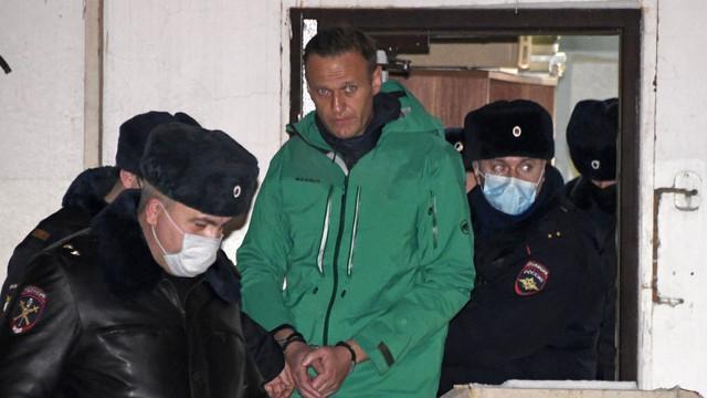 Alexei Navalnîi a fost mutat din închisoarea din Moscova, posibil într-un lagăr de muncă