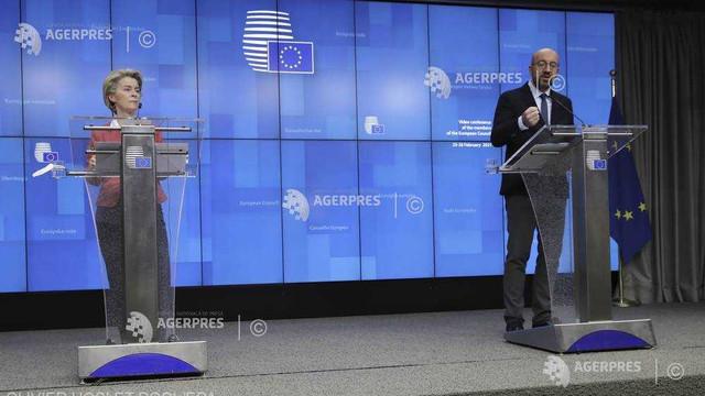 Liderii statelor membre UE au făcut apel la menținerea de restricții ferme