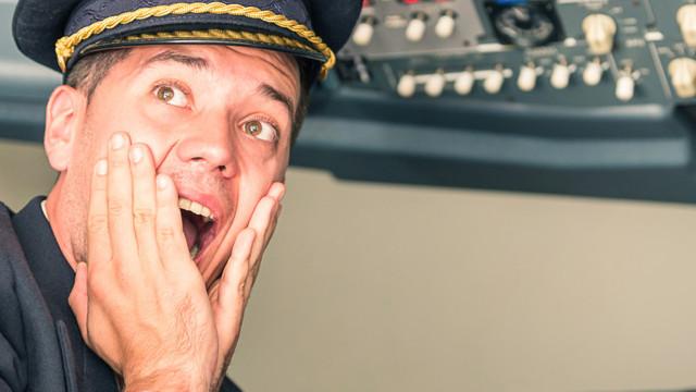 """Un pilot a raportat o întâlnire cu un OZN:-""""Detest să spun treaba asta, dar seamănă cu un obiect cilindric lung"""""""