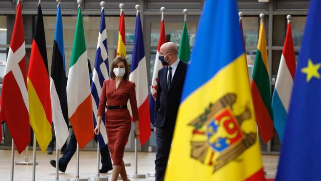 Președintele Consiliului European, Charles Michel, efectuează o vizită la Chișinău