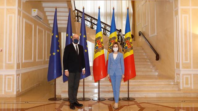 """Președintele Consiliului European: """"Uniunea Europeană este cel mai de încredere partener al  R.Moldova. Susținerea noastră este strâns legată de reforme. Doar lupta cu corupția și consolidarea statului de drept pot asigura progresul"""""""