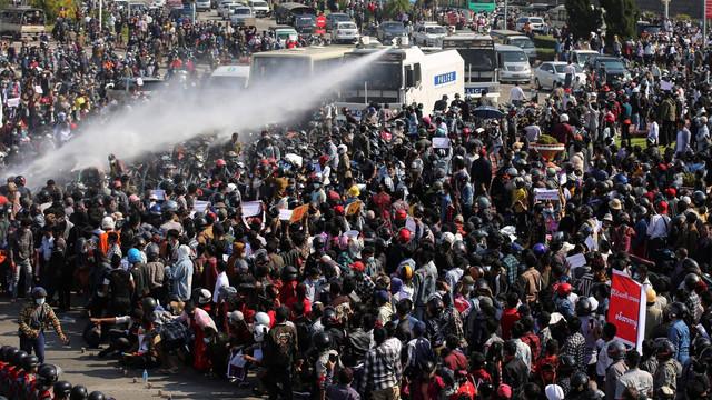 ONU condamnă represiunea violentă a protestelor din Myanmar