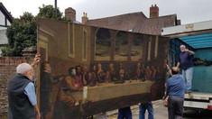 O pictură descoperită într-o biserică din Anglia ar fi fost realizată în secolul al XVI-lea de un celebru pictor italian
