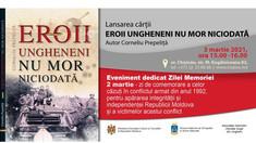 O carte despre eroii ungheneni din războiul de pe Nistru a fost lansată la un muzeu din Capitală