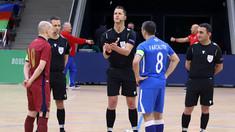 Naționala de futsal pierde primul meci din preliminariile Campionatul European 2022